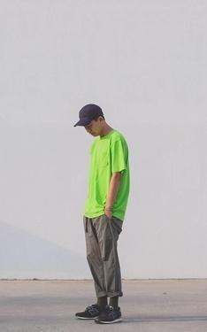 時尚穿搭:螢光綠style~~~