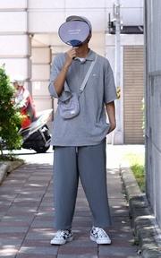 PLAIN-ME 吸濕抗菌長版背心的時尚穿搭
