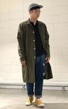 時尚穿搭:軍大衣