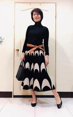 時尚穿搭:黑白搭