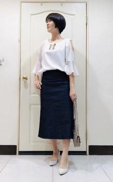 時尚穿搭:白+藍