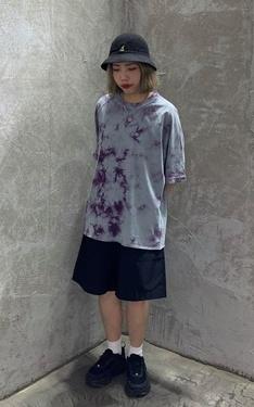 時尚穿搭:迷惘紫渲染