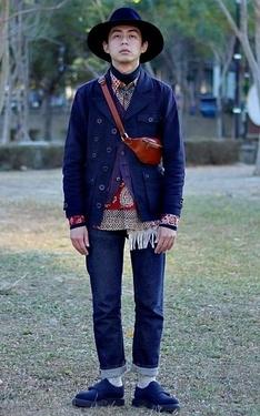 時尚穿搭:米台日