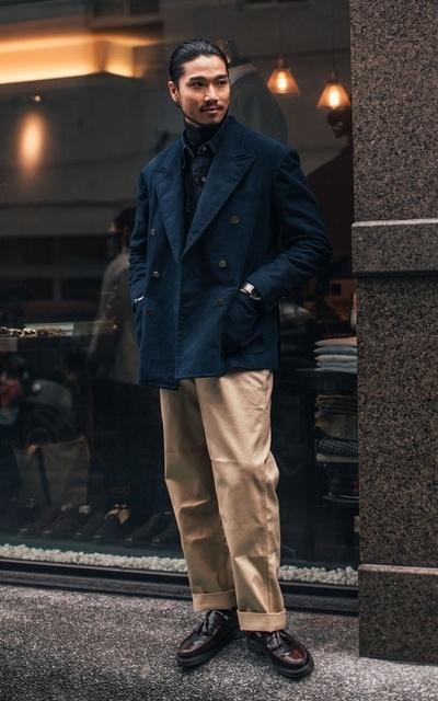 適合都會男子、CITY BOY、大人感、圈入藍、CHAINLOOP STYLE、橫圖比較美~~~~、CHAINLOOP的穿搭