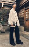 時尚穿搭:白西裝外套穿搭