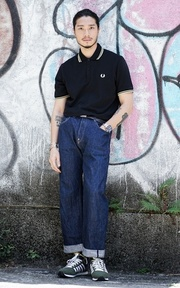 FRED PERRY POLO衫的穿搭