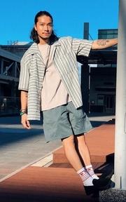 FONCTION 短褲的時尚穿搭