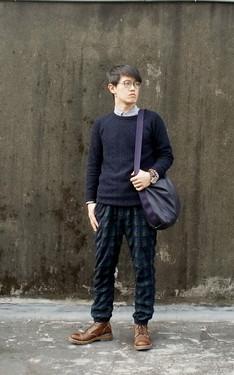 時尚穿搭:Knit style