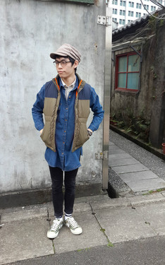 時尚穿搭:Erich Fu 2014-02-24的搭配