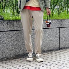 PLAIN-ME 的 1616 EASY抽繩長褲