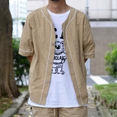COP BY PLAIN-ME 的 記憶紗棒球襯衫