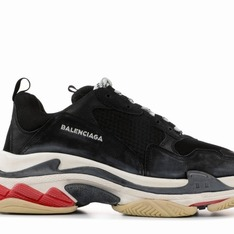 BALENCIAGA 的 BALENCIAGA TRIPLE S TRAINER DADDY SHOES 老爹鞋