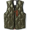 "SYNDRO 的 ""FRAMEWORK"" QUILTED DOWN VEST"