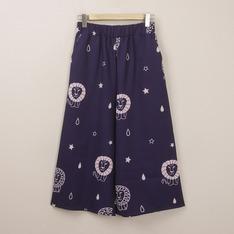 POLY LULU 的 LISA LARSON滿版印花寬褲
