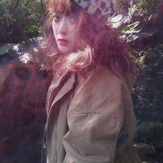 網購 的 豹紋貝蕾帽