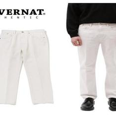 COVERNAT 的 [COVERNAT] 20SS SLIM CROP CREAM JEAN