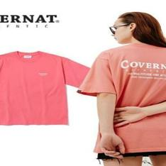 COVERNAT 的 LAYOUT LOGO TEE RED