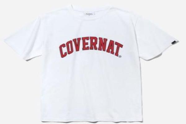 COVERNAT 的 [COVERNAT] S/S ARCH LOGO 短袖TEE 白/紅