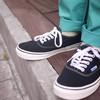 BEAMS X VANS 的 休閒帆布鞋