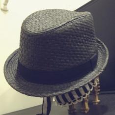 網拍 的 草編紳士帽