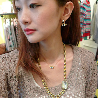 TWIGGY 的 EARRING & NECKLACE