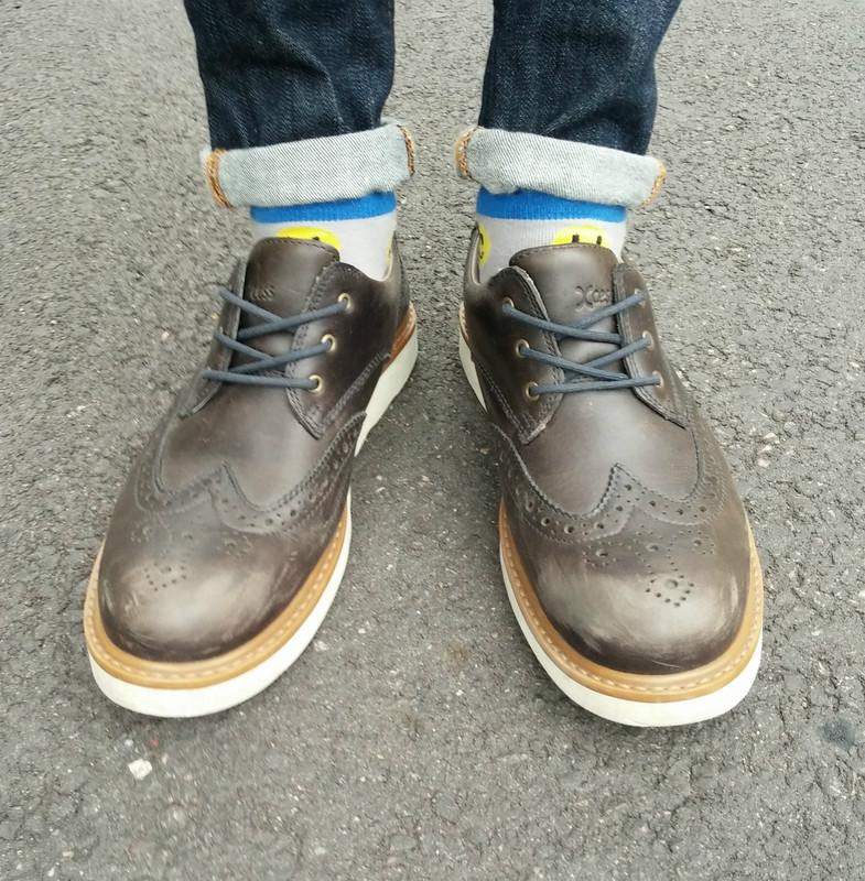 無品牌 的 雕花厚底鞋