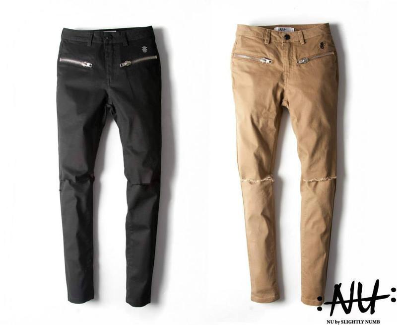 SLIGHTLY NUMB 的 彈性牛仔褲