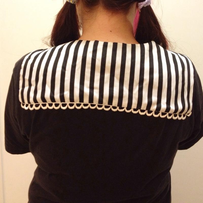 日本購入 的 條紋領巾