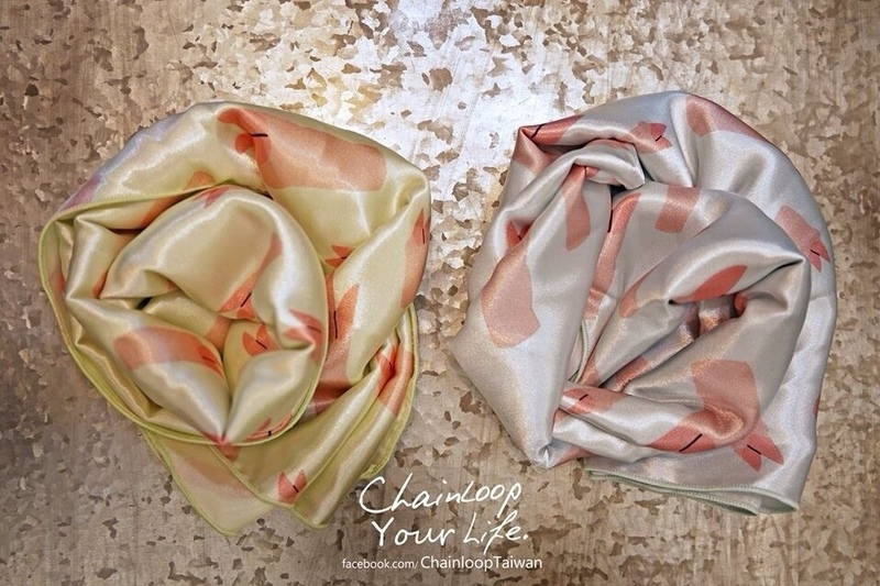 CHAINLOOP 的 領巾