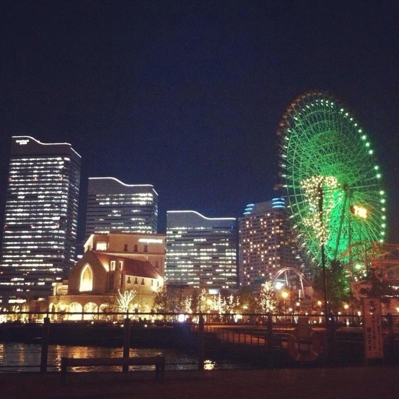 橫濱 的 橫濱夜景