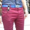 METALS ERASER 的 韓版紫紅短褲