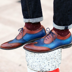 UNIQLO & DANDY 的 SOCKS & OXFORD SHOES