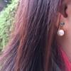 無品牌 的 珍珠耳環