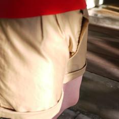 BEAMS BOY 的 卡其短褲