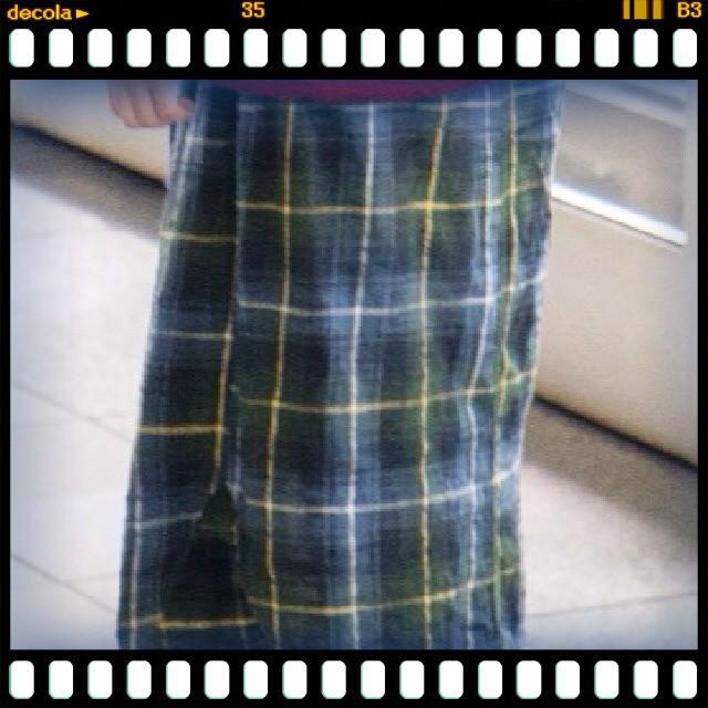 逢甲MINING小店 的 格子長裙