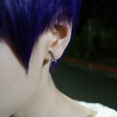 LAZY CAT 的 純銀耳環