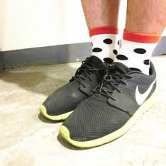 日本購入 的 點點襪子