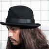 黑毛呢紳士帽