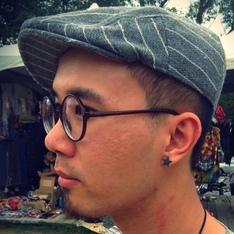 無品牌 的 條紋鴨舌帽