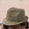 無品牌 的 編織草帽