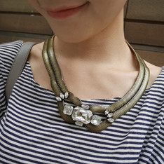 LOREN HOPE 的 STATEMENT NECKLACE