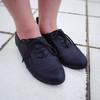 RIVER ISLAND  的 黑色雕花牛津鞋