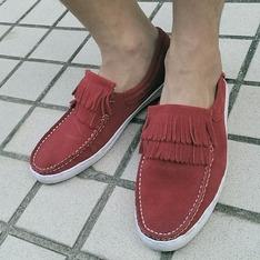 ARCO 的 紅色休閒鞋