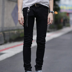 ALL SAINTS 的 黑色SKINNYJEANS