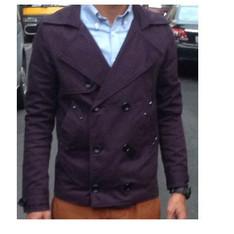 ANKH 的 雙排扣外套 / 紫 / S