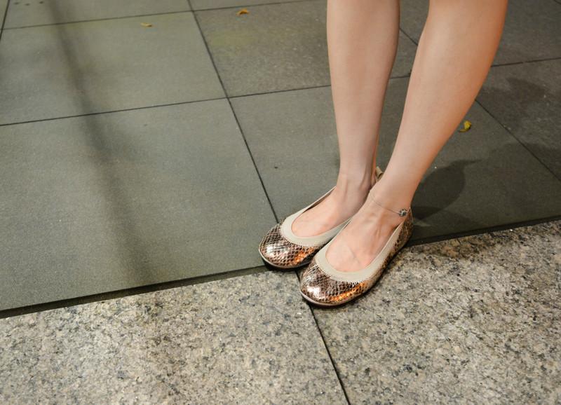 YOSI SAMRA 的 摺疊娃娃鞋