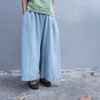 MY BASIC SELECT 的 寬版棉褲