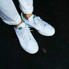 ADIDAS ORIGINAL STAN SMITH 的 復古網球鞋