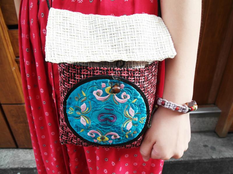 手作 的 刺繡/編織小包 & 民族風/編織手環