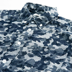 "SYNDRO 的 CAMO SHIRT :  "" BUTTON UP !! "" B.D. SHIRT"